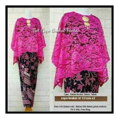 Honeyclothing Setelan Kebaya Wanita Kutubaru Capela - Fanta / Kebaya Kutubaru / Setelan Muslim / Baju Muslim Batik