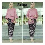 Spesifikasi Honeyclothing Setelan Kebaya Wanita Arnia Dusty Kebaya Kutubaru Setelan Wanita Setelan Batik Baju Muslim Best Seller