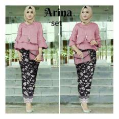 Harga Honeyclothing Setelan Kebaya Wanita Arnia Dusty Kebaya Kutubaru Setelan Wanita Setelan Batik Baju Muslim Best Seller Lengkap