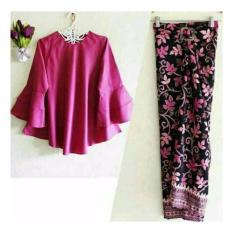 Honeyclothing Setelan Wanita Belia - Fanta / Kebaya Kutubaru / Baju Muslim / Setelan Kebaya / Setelan Batik / Best seller