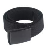 Dimana Beli Honeymore Kanvas Web Belt Military Style Black Buckle Solid Pria Sabuk Pinggang Dengan Plastik Gesper Internasional Oem