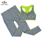 Ulasan Lengkap Tentang Honor Fashion Women Skinny Gradient Color Yoga Suits Kuning Fy6967 Intl