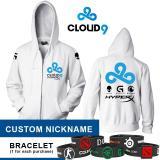 Harga Hoodie Cloud9 White Costum Nickname Apparel Gaming Store Asli