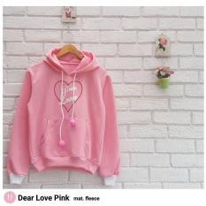 Jual Hoodie Dear Love Fashion Jaket Hoodie Wanita Original