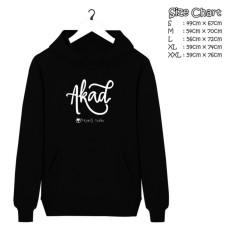 hoodie distro band payung teduh akad cotton fleece 100%