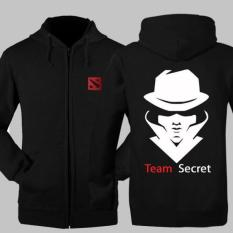 Harga Hoodie Dota 2 Team Secret Jaket Zipper Sweater Dota2 Keren Branded