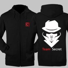 Hoodie Dota 2 Team Secret Jaket Zipper Sweater Dota2 Keren Multi Diskon 40