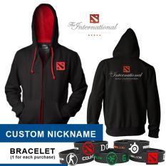 Beli Hoodie Dota2 International Costum Nickname Apparel Gaming Store Online
