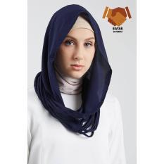 Hoodie Instan Shasmira - Navy Blue