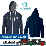 Review Tentang Hoodie Liquid Blue Logo Custom Nickname