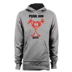 Jual Hoodie Pearl Jam Alive Pria Abu Abu Satu Set
