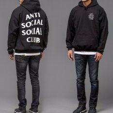 Tips Beli Hoodie Premium Anti Social Sosial Club Assc Kanye West Hitam Yang Bagus