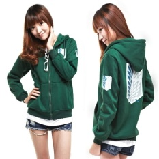 Beli Hoodie Sweater Coat Attack On Titan Shingeki No Kyojin Scouting Legion Intl Murah Tiongkok
