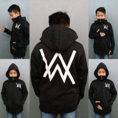 Beli Rch Jaket Sweater Hoodie Ziper Allan Walker Anak Hitam Indonesia