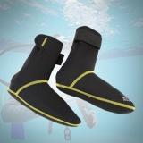Ulasan Lengkap Hook Dan Loop Anti Slip Boots Olahraga Untuk Berenang Hitam L
