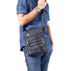 Jual Beli Online Hoozler Body Pack Sling Bag Tas Selempang Pria Gun Black