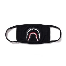 Promo Hot A Bathing Ape Bape Shark Black Face Mask Camouflage Mouth Muffle Bape Cover Intl Not Specified Terbaru