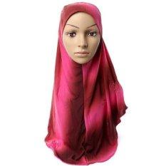 Hot Adult Kapas Muslim Jilbab Baru Sorban Jersey Baotou Grosir Syal Monokrom Pelebaran High-grade (2)