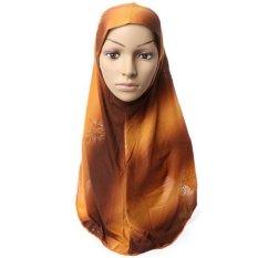 Hot Adult Kapas Muslim Jilbab Baru Sorban Jersey Baotou Grosir Syal Monokrom Pelebaran High-grade (8)