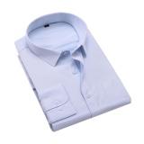 Spesifikasi Hot Brand Pria Panjang Lengan Kemeja Bisnis Cotton Ukuran Kecil Ukuran Besar Intl Yang Bagus