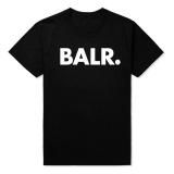 Jual Hot Fashion Balr T Shirt Fesyen Longgar T Shirt Berkualitas Tinggi Hitam Intl Oem Murah