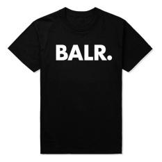 Spesifikasi Hot Fashion Balr T Shirt Fesyen Longgar T Shirt Berkualitas Tinggi Hitam Intl Terbaik