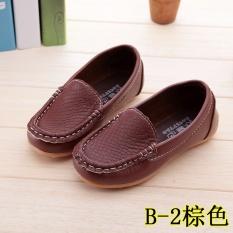 Beli Hot Busana Boys Dan Girls Rekreasi Sepatu Beanie Sepatu Indah Solid Putri Lembut Bawah Sepatu Brown Intl Baru
