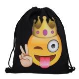 Harga Hot Fashion Baju Wanita Wanita Bahu Folding Drawstring String Bag Backpack Sch**l Rucksack Gym Sport Handbag 15 X 11 8 Travel Storage Shopping Pake Portable Pouch Biru Intl Fullset Murah