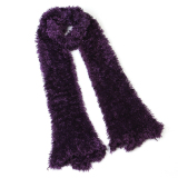 Katalog Hot Fashion Winter Warm Charcoal Fiber Soft Magic Woolly Scarf Shawl Purple Terbaru