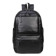 ... One Size Intl Daftar Source · Hot Wanita Ransel untuk Wanita Sekolah Pu Tas Punggung Kulit Tas Fashion Hitam Travel Waterproof Black