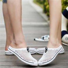 Jual Hot Hollow Out Breathable Sandal Pantai Unisex Casual Slip On Flat Sandal Jepit Intl Original