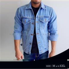 HOT ITEM Jaket Jeans Denim Pria - Bioblits