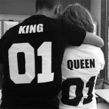Harga Panas Men Tee T Shirt Lengan Bang Pendek Atas Hip Hop Pasangan Huruf Cetak Kaos Hitam International Oem Baru