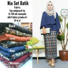 HOT PROMO Nia Set Batik Kebaya By Aleea Store B74