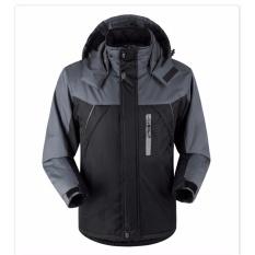 Spesifikasi Jual Hot Fashion Pria Casual Sport Coat Wanita Tahan Terhadap Air Windproof Outdoorwear Mountain Snow Jaket Pemuda Musim Dingin Jaket Mantel Plus Ukuran M 5Xl Black