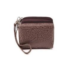 Jual Hot Fashion Wanita 3 Layer Handbag Coin Dompet Kopi-Intl