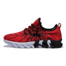 Hot Sale MIZUNO WAVE Nubuat Pria Sepatu Sneakers Olahraga Pria & Wanita Sepatu, Pagar Sepatu-red-Intl