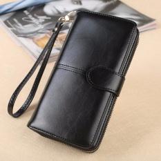 Beli Hot Sale Zipper Long Wallet Brand Coin Purse Leather Women Wallet Purse Wallet Female Card Holder Long Lady Clutch Intl Baru