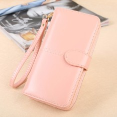 Promo Hot Sale Zipper Long Wallet Brand Coin Purse Leather Women Wallet Purse Wallet Female Card Holder Long Lady Clutch Intl Oem