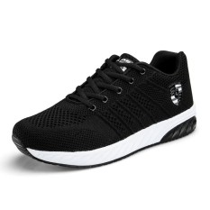 Harga Hot Sales Fashion Mens Light Breathable Mesh Lace Up Sports Shoes Casual Running Shoes Male Sneakers Intl New