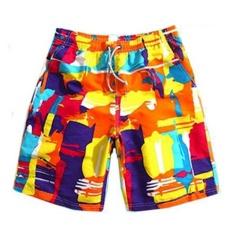 Hot Jual Pria Celana Pendek Pakaian Renang Board Shorts Bermuda Surf Beach Boardshorts Cepat Kering Pendek De Bain-Intl