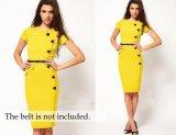 Beli Hot Wanita Rok Eropa Dan Amerika Tombol Dan Lutut Dress Intl Nyicil