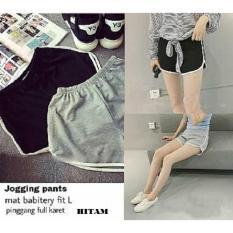 Hoziro - Jogging Pants Sport Pants Hot Pants Wanita Marla Bahan Babytery