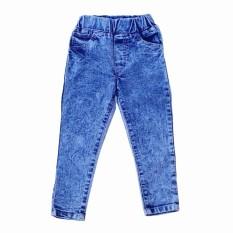 Diskon Produk Hqo Celana Jeans Pensil Snow Wash Anak Panjang Celana Jeans Pensil Anak