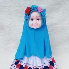 HQo Kerudung Anak Bayi Yasna / Jilbab Anak Bayi / Jilbab Bayi / Hijab Pashmina Instan Anak