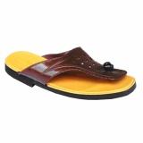 Spesifikasi Hqo Sandal Lily Japit Sendal Lili Si Pitung Klasik Coklat Tua Yang Bagus