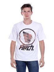Promo Hrcn Hbn 0512 Kaos Oneck T Shirt Lengan Pendek Pria Bahan Cotton Combed Bagus Dan Keren White Jawa Barat
