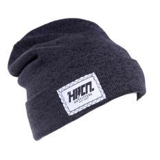 HRCN HWD 8023 topi kupluk pria - knitting - keren ( Abu Tua )