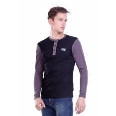 Toko Hrcn T Shirt Long Sleeve Pria Kaos Lengan Panjang Pria Bahan Cotton Combed Mimic Hbg 0101 Murah Di Jawa Barat