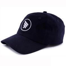 Review Hrcn Topi Casual Distro Hat Cap Twill H8026 Baseball Skate Plo Blue Terbaru